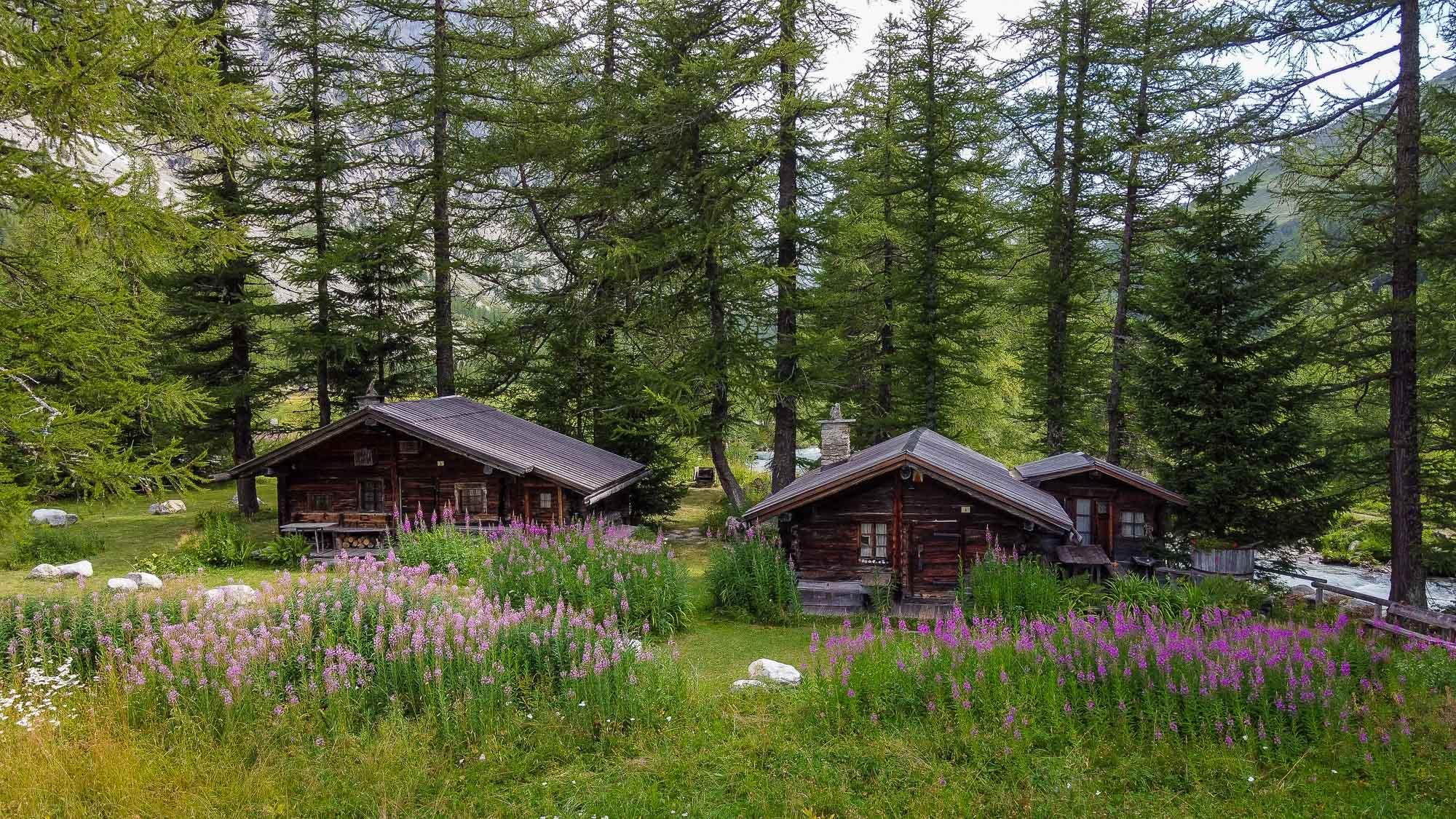 Baite in Val Ferret